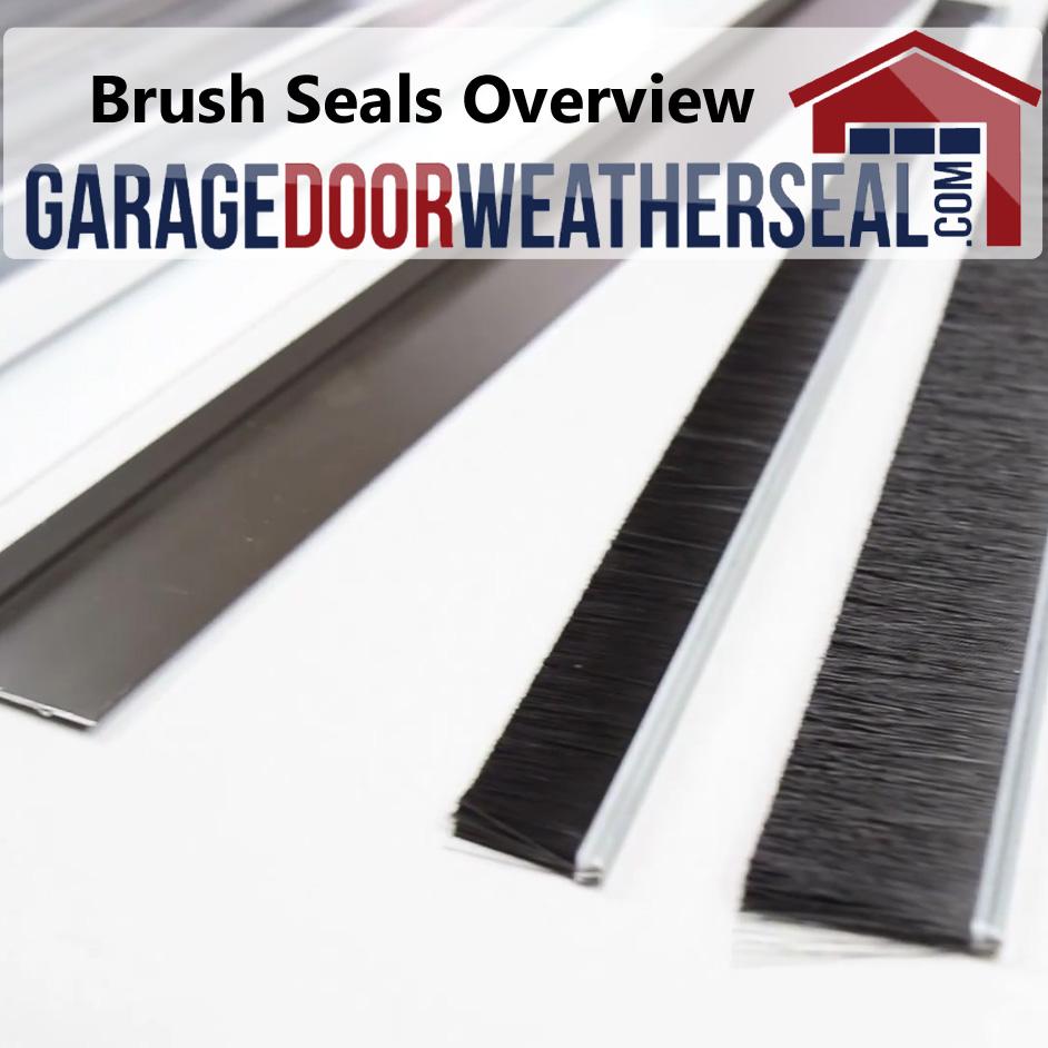 Brush Seals Archives Garage Door Weather Seal
