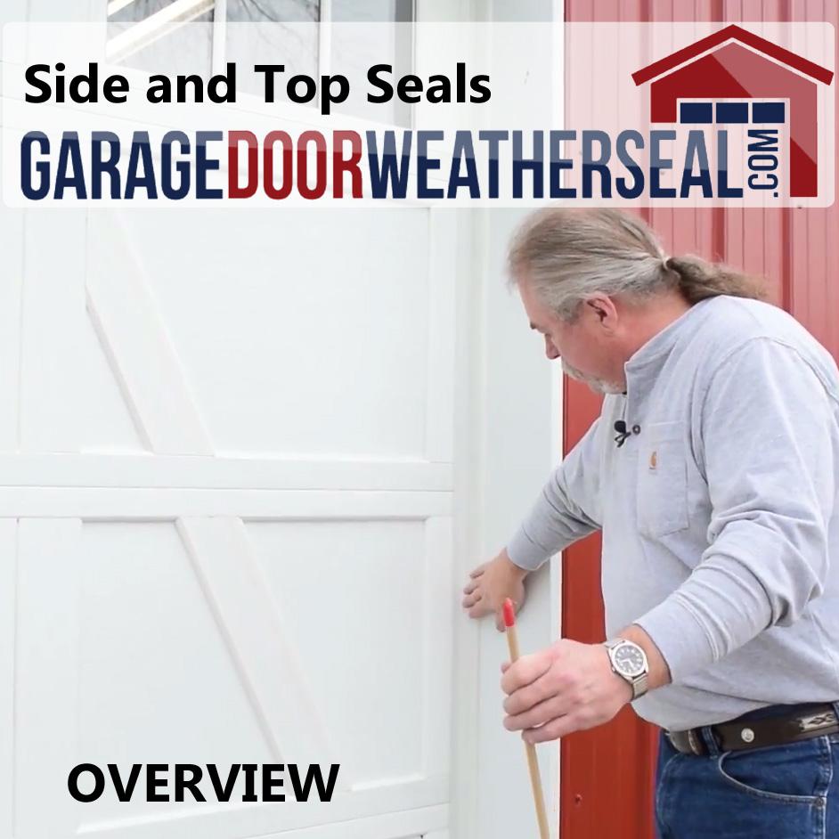Side And Top Seals Archives Garage Door Weather Seal
