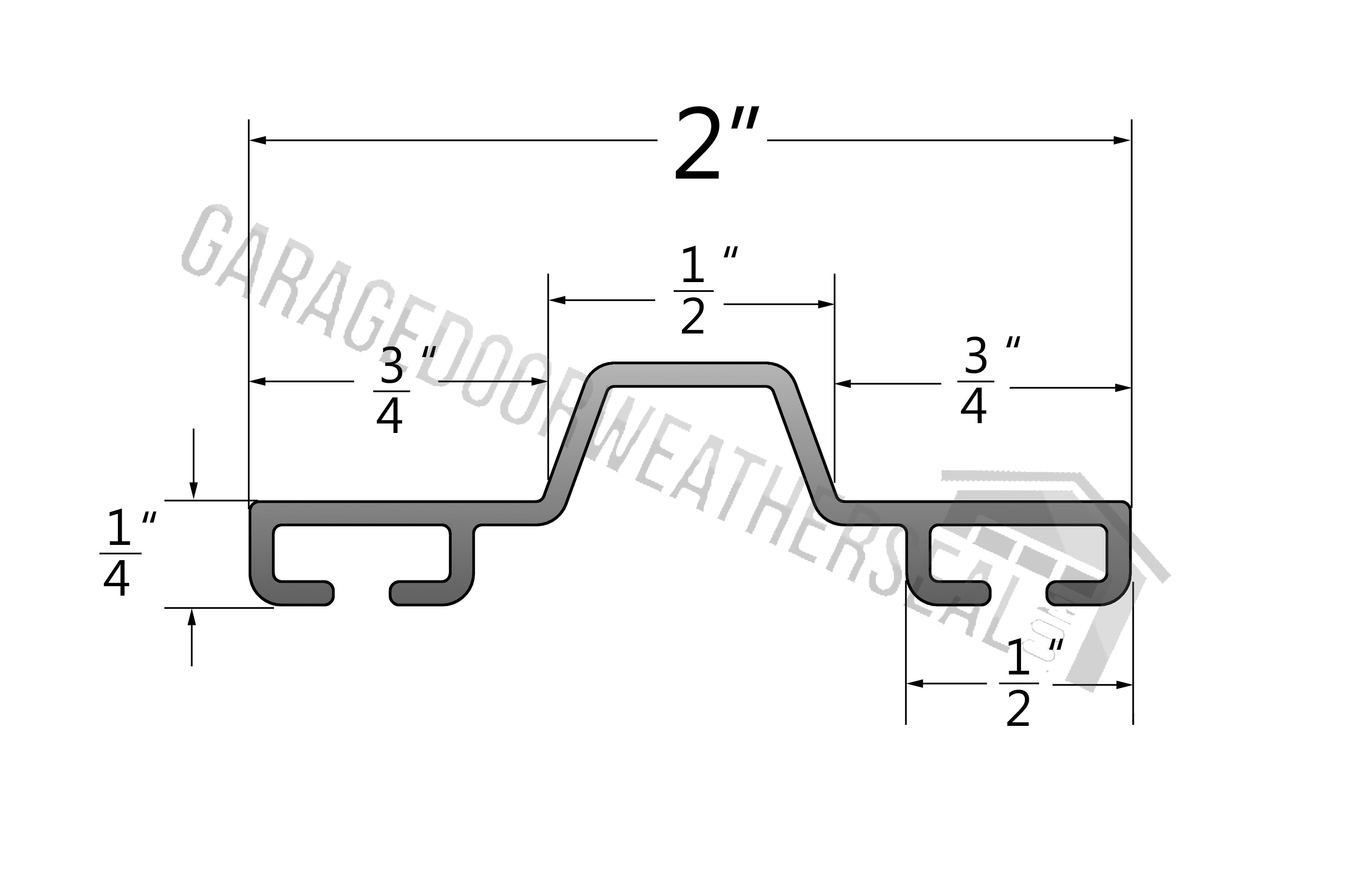 overhead door bottom retainer