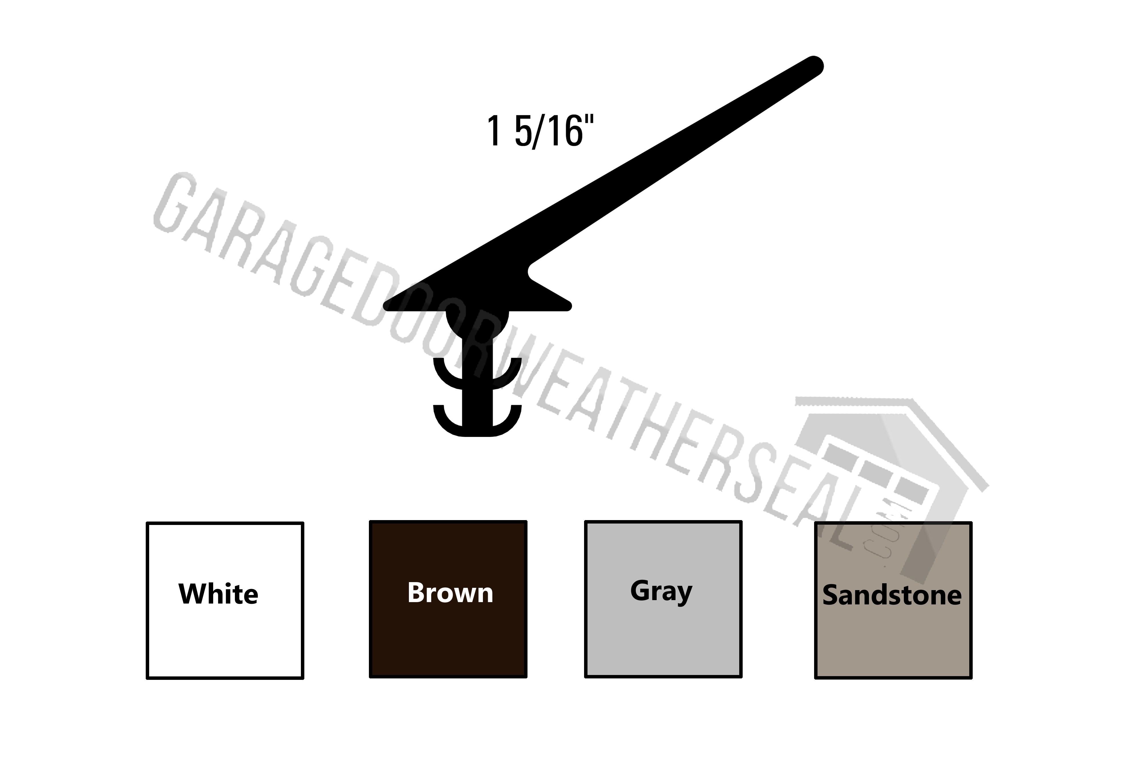 Garage Door Seals For Top And Sides Garage Door Weather Seal