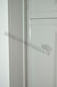 how to install garage door weather stripping