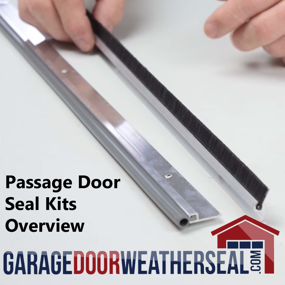 Passage Door Seal Kits Archives Garage Door Weather Seal