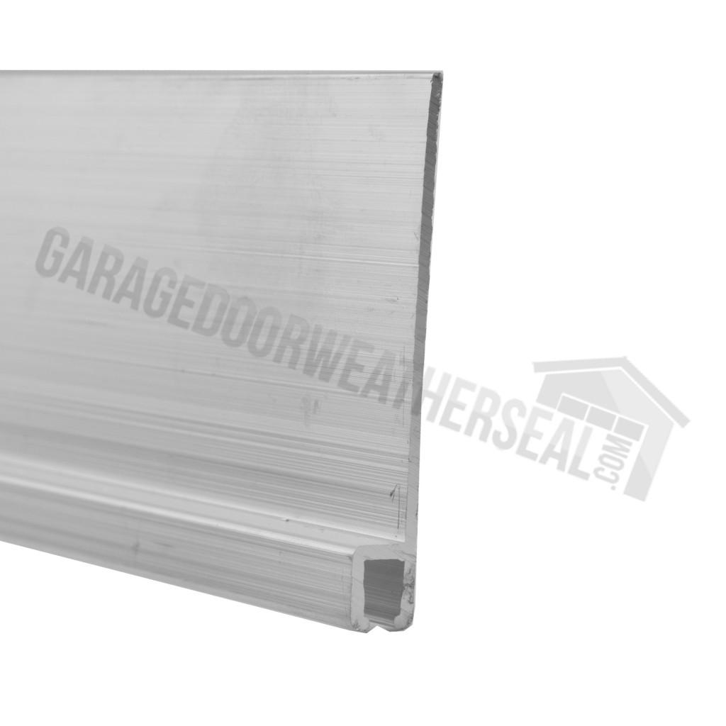 Aluminum Brush Seal Retainer Garage Door Weather Seal