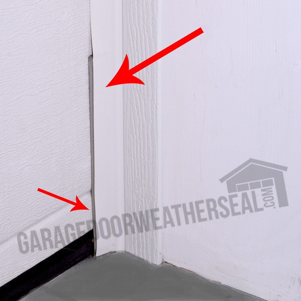 Garage Door Rodent Shield